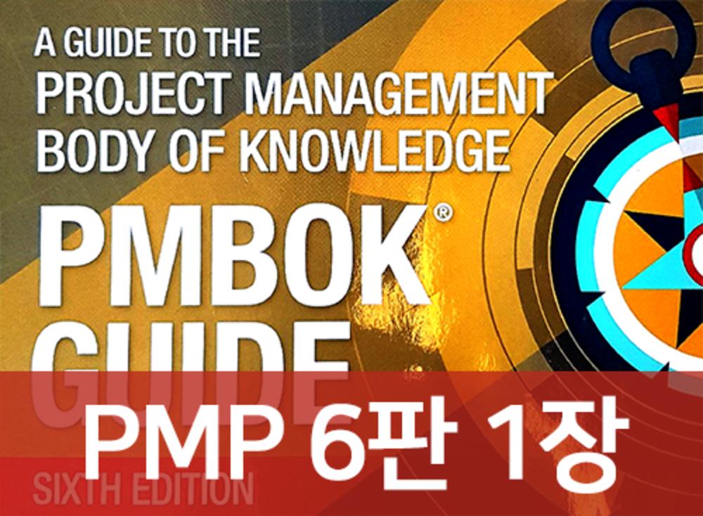 [PMP 6판] 1장 프로젝트 관리 일반 소개