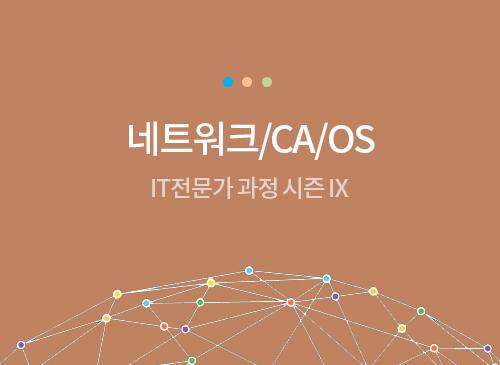 2. 네트워크/CA/OS 명품특강