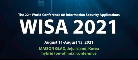 WISA 2021 이미지