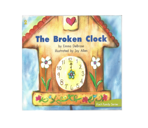 Blue50 The Broken Clock