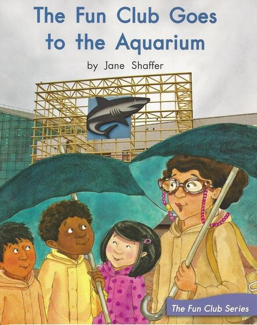 Blue89 The Fun Club Goes to the Aquarium (Level K)