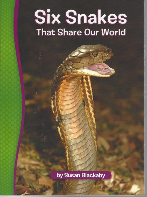 Red 113 Six snakes that share our world (Level O)