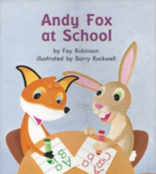 Blue44 Andy Fox at School (Level E)