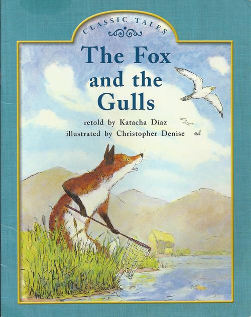 Blue107 The Fox and the Gulls