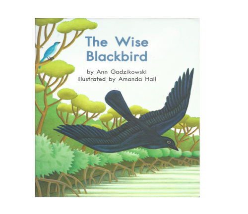 Blue84 The Wise Blackbird