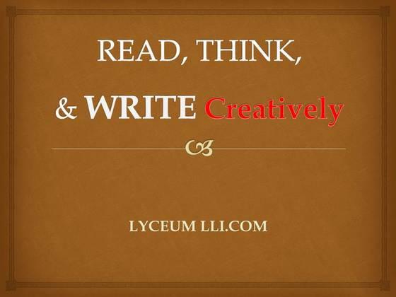 라시움에서 창의적 영어글쓰기는 어떻게 성장해 갈까요?