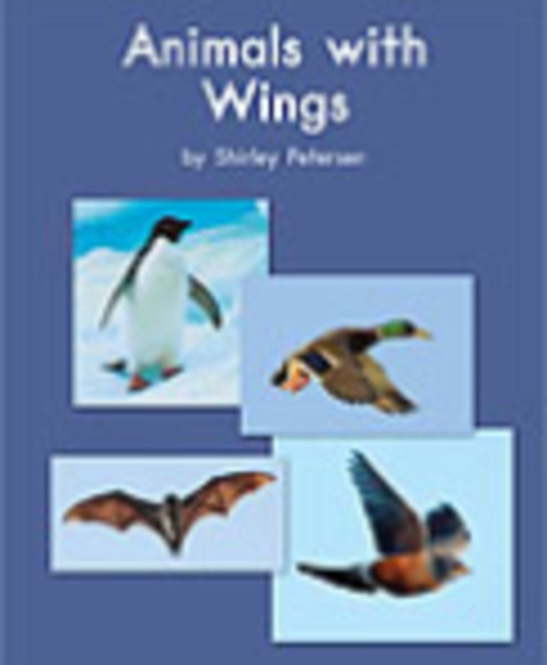 Blue 120 Animals with Wings
