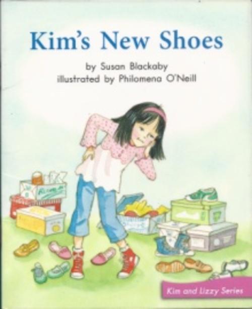 Blue68 Kim's New Shoes