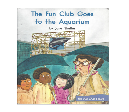 Blue89 The Fun Club Goes to the Aquarium
