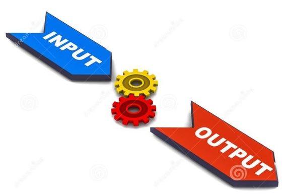 Input과 Output을 통한 4대 영역의 균형발전