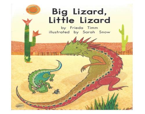 Blue9 Big Lizard, Little Lizard (Level C)