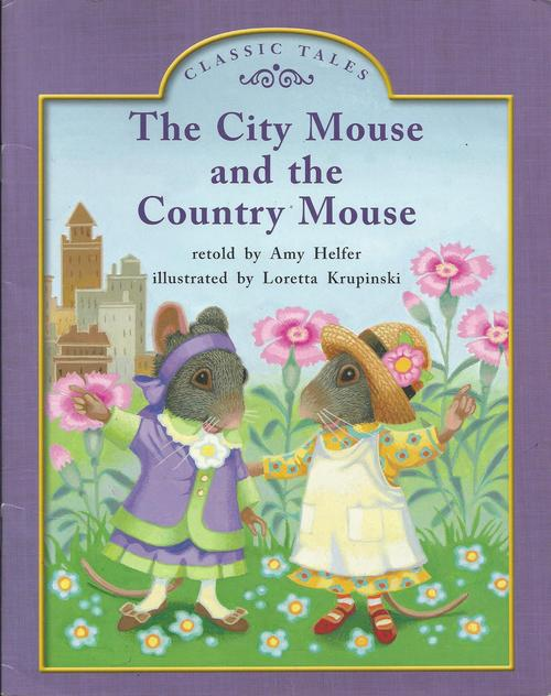 Blue87 The City Mouse and the Country Mouse (Level K)