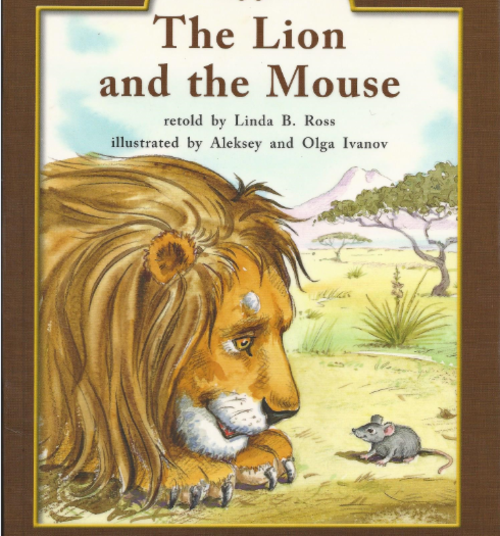 Green105 The Lion and the Mouse