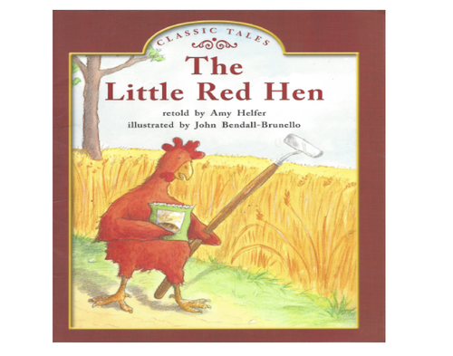 Blue1 The Little Red Hen (Level C)
