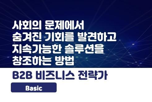 B2B 비즈니스 전략가 [Basic]