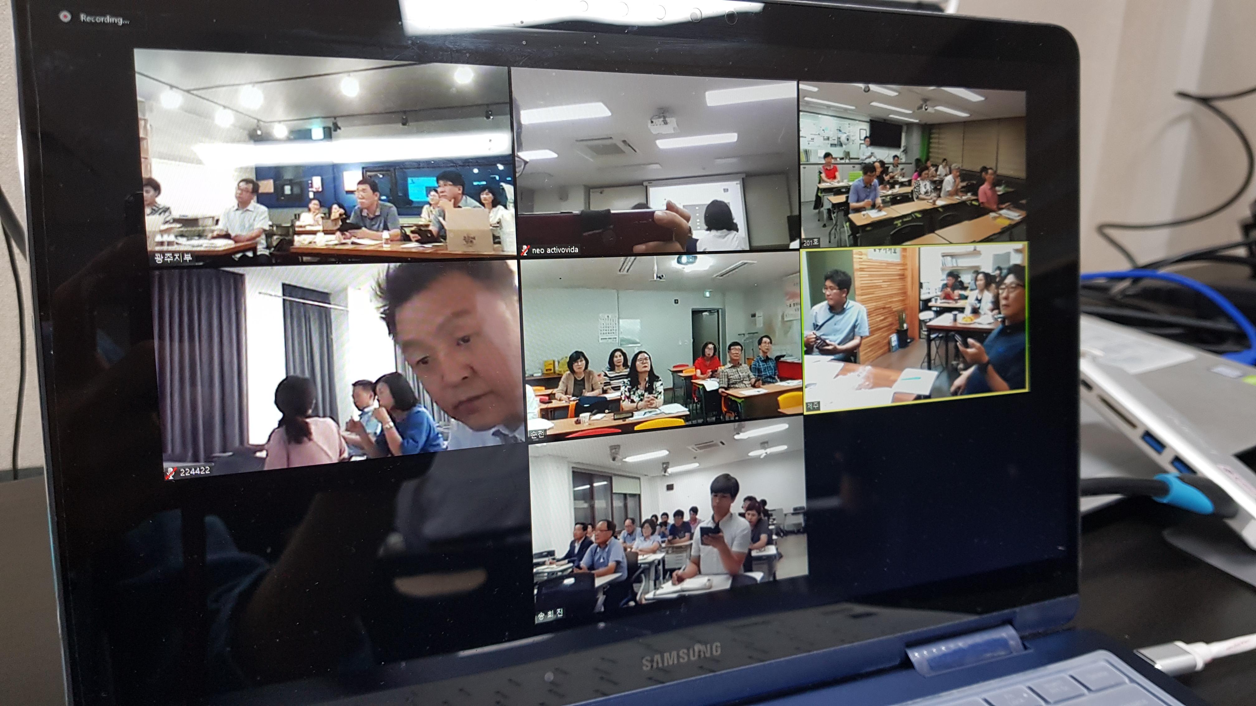 2019년 8월 정기세미나(영상촬영... 이미지