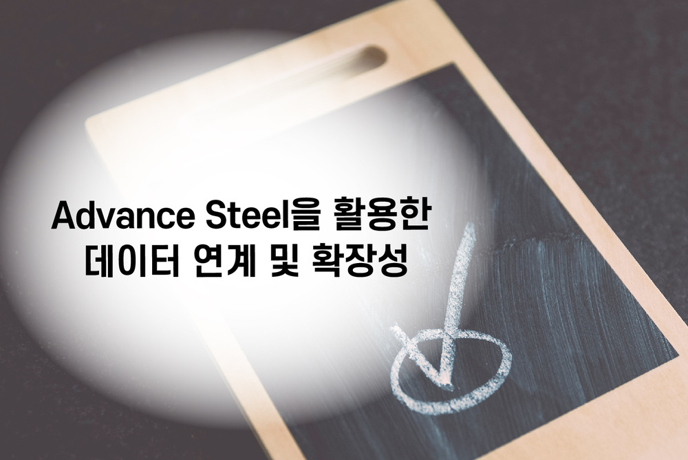 Advance Steel을 활용한 데이터 연계 및 확장성